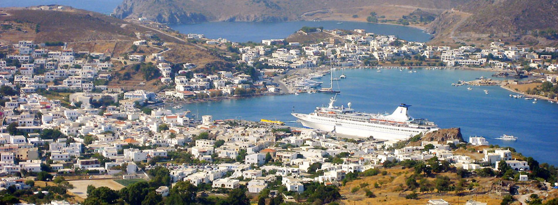 Port of Skala – Life center of the island