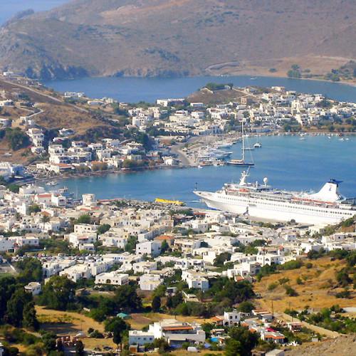Skala Limanı – adanın hayat merkezi